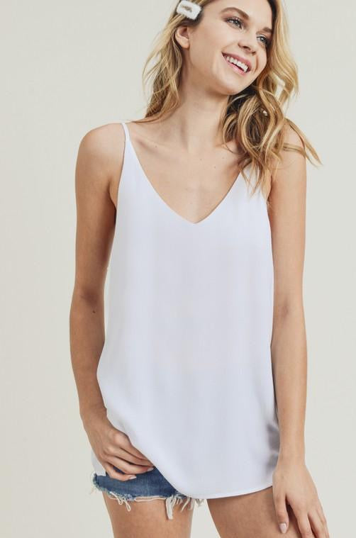Essential White Cami