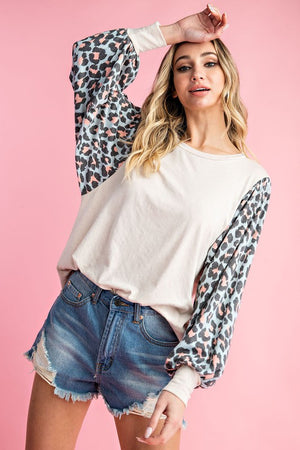 Sassy Spotted Top