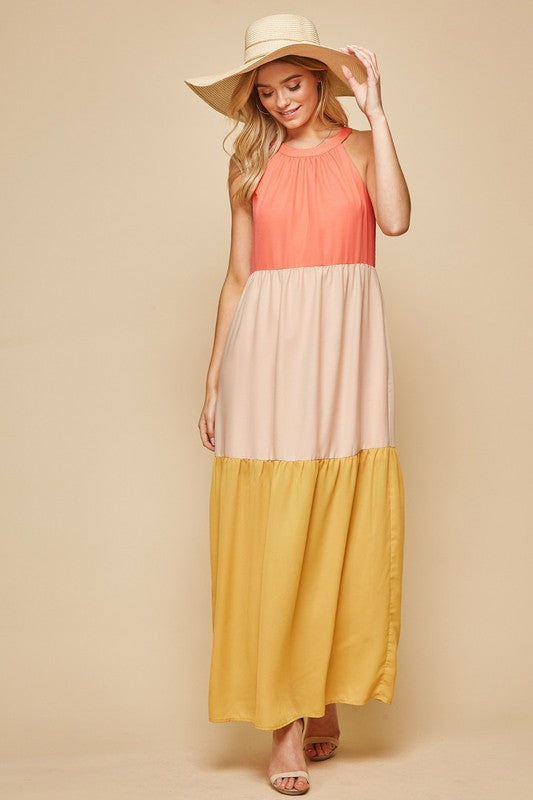 Peachy Keen Dress