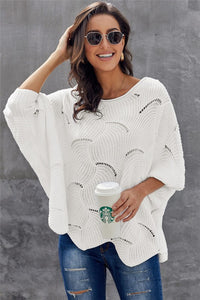 Scalloped Sweater