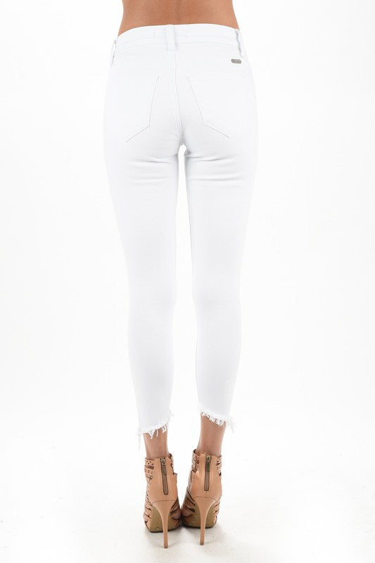 White Just Right Jean