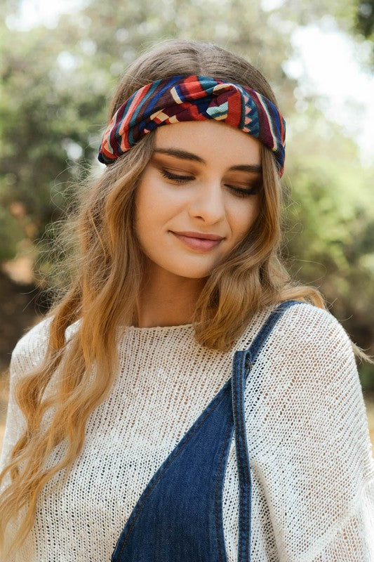 Corduroy Twist Headband