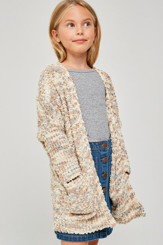 Cappuccino Cardi for Girls
