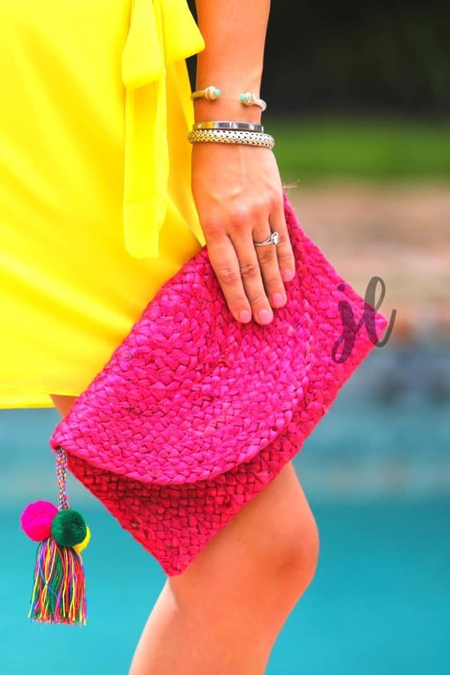 Pretty in Pink Clutch