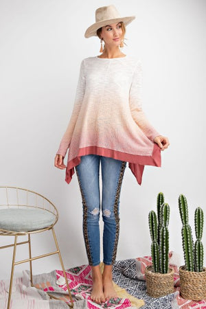 Ombre Sunset Top
