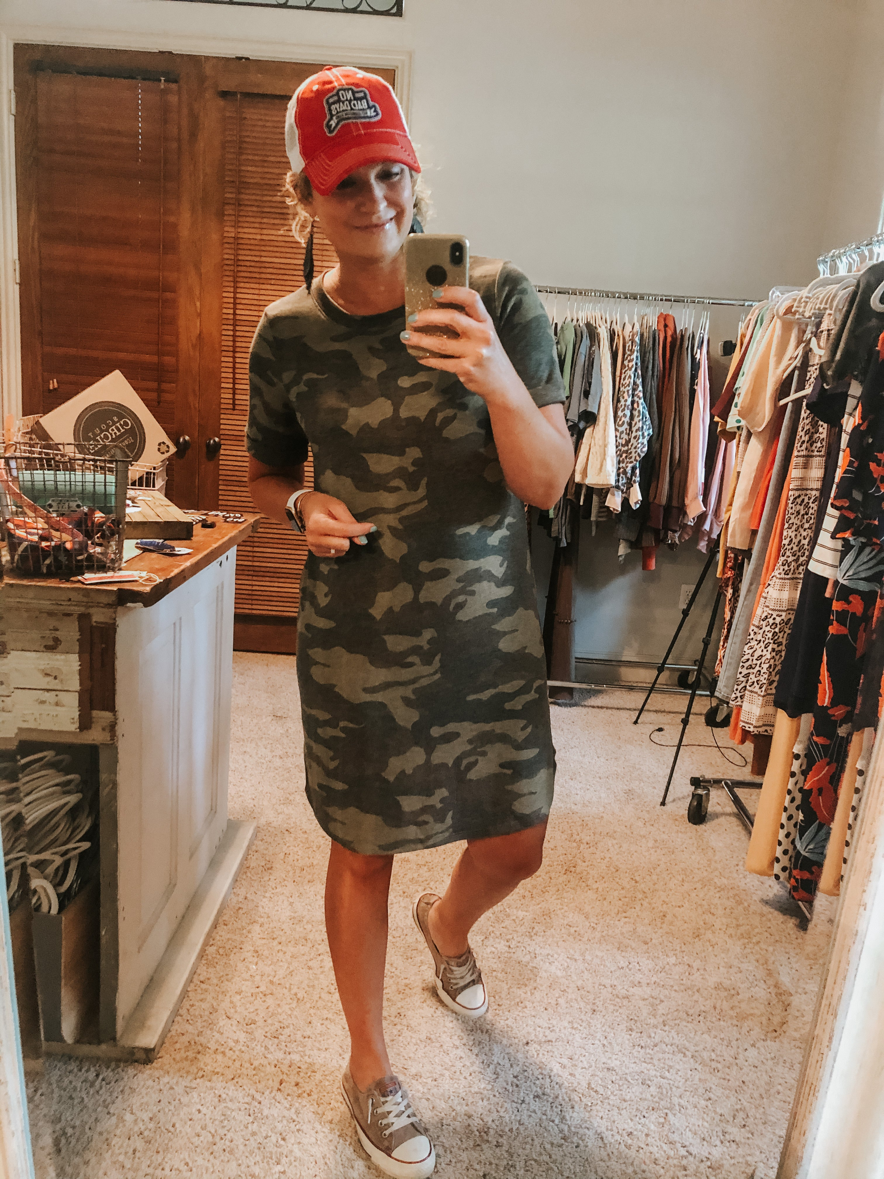 Your Fave Camo Dress