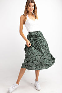 I Pleat With You Skirt