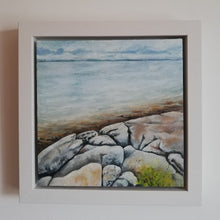 Load image into Gallery viewer, Galway Bay from The Flaggy Shore | 25cm x 25cm Framed