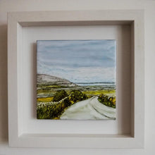 Load image into Gallery viewer, From Clare to Here  (25cm x 25cm Framed) Available for sale at The RussellGallery