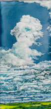 Load image into Gallery viewer, Original Irish Artwork, Alcohol Ink Paintings, West of Ireland, Burren, Clouds, Wild Atlantic Way