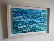 Load image into Gallery viewer, Original Irish Art | Surge (34cm x 49cm) Framed