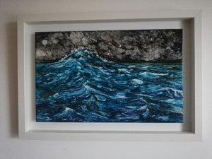 Original Irish Art | An Bradan 34cm x 49cm