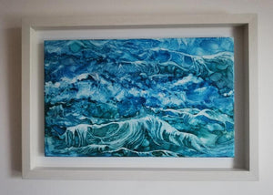Original Irish Art | Surge (34cm x 49cm) Framed