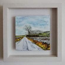 Load image into Gallery viewer, The New Line (25cm x 25cm Framed) Available at The Russell Gallery