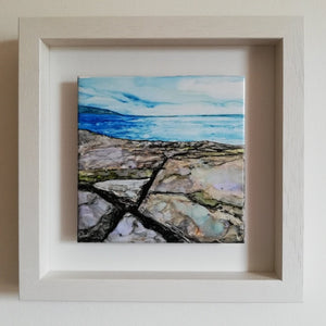 Solitude 25cm x 25cm - Framed | SOLD