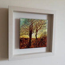 Load image into Gallery viewer, Evening Glow 25cm x 25cm (Framed) SOLD