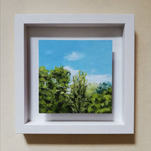 Load image into Gallery viewer, Through The Tree Tops | 25cm x 25cm (Framed)