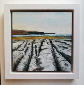 Leading to The Cliffs, 25cm x 25cm Framed (available at The Russell Gallery)