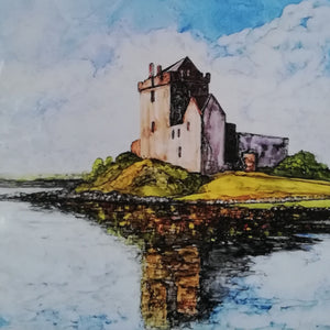 Copy of Irish Landscape Print | Dunguire Castle, Co Galway