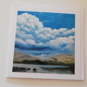 Greeting Card - Into the Burren