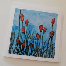 Load image into Gallery viewer, Copy of Greeting Card - Red Hot Pokers