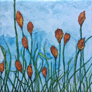 Copy of Greeting Card - Red Hot Pokers