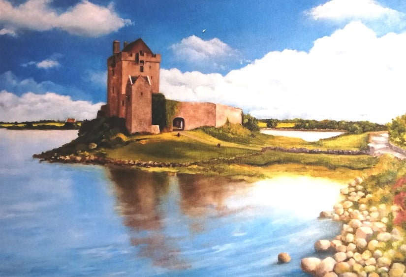 Greeting Card - Dunguire Kinvara