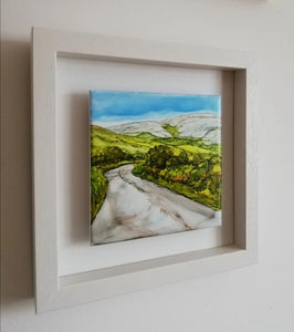 Left or Right  (25cm x 25cm Framed) Available at The Russell Gallery