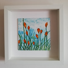 Load image into Gallery viewer, Red Hot Pokers 15cm x 15cm