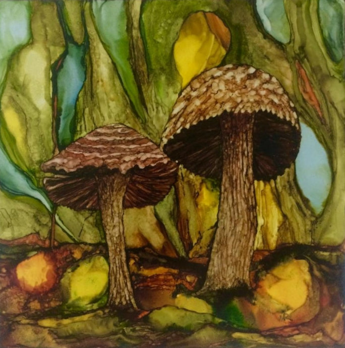Original Irish Art | Shrooms l