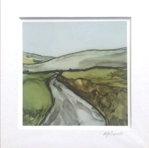 Irish Landscape Prints | Journey Home II