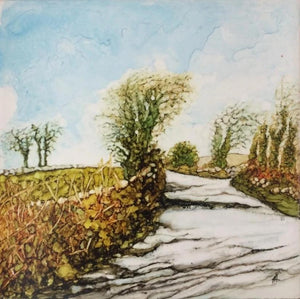 A Road Welk Travelled 15cm x 15cm