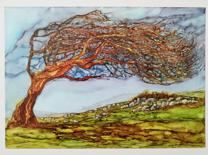 Every Way the Wind Blows (31cm x 40cm Framed) Available at the Russell Gallery