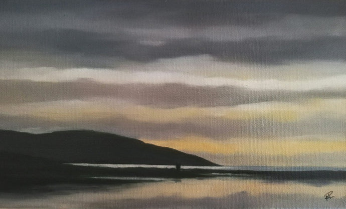 Blackhead at Dusk 	| 25cm x 15cm x 4cm available at The Russell Gallery