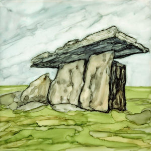 Irish Landscape, The Burren, Wild Atlantic Way, Poulnabrone Dolmen