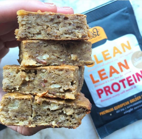 Banana Nut Vegan Protein Bars Recipe