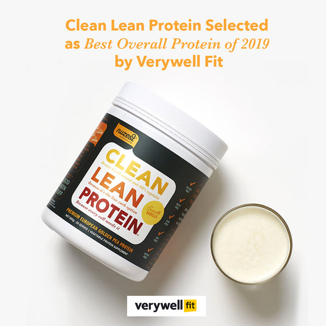 Clean Lean Protein Selected as Best Overall Protein of 2019 by Verywell Fit