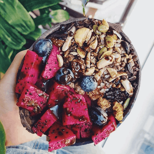 Cacao Mint Pitaya Bowl Recipe