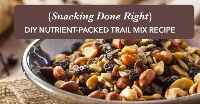 DIY Nutrient-Packed Trail Mix Recipe