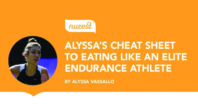 Elite Endurance Athlete's Typical Daily Nutrition with Alyssa Vassallo