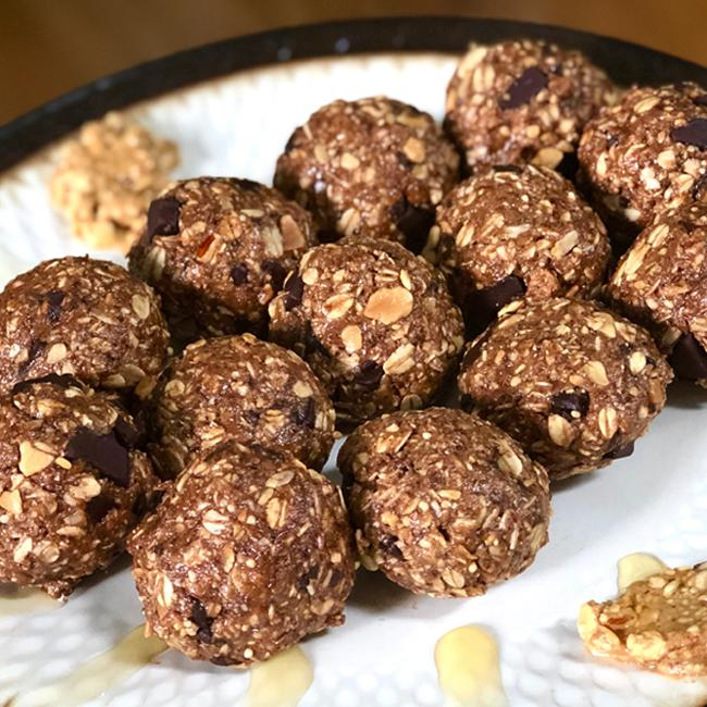 protein pregnancy lactation no bake balls