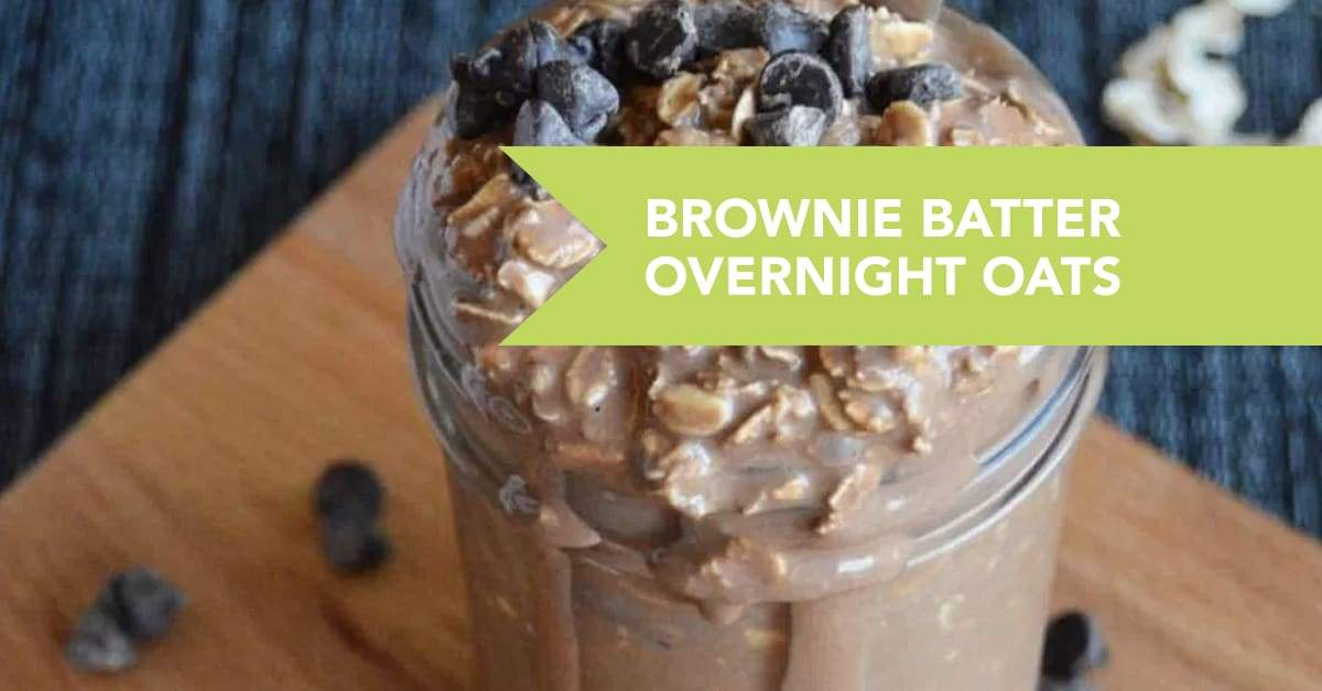 Brownie Batter Overnight Oats!