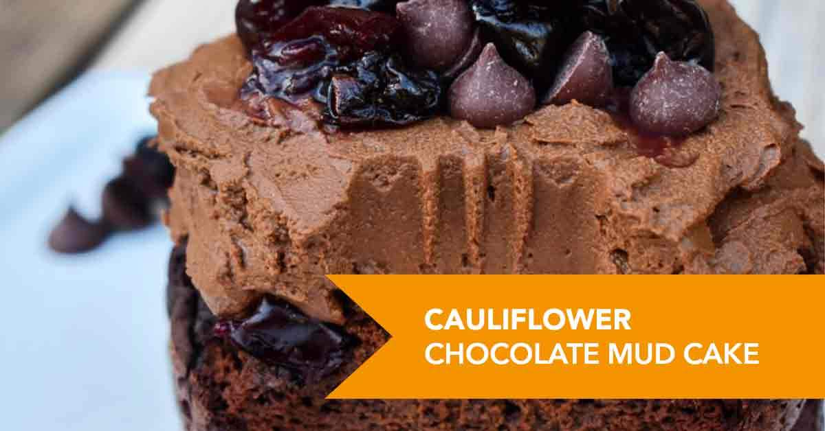 Cauliflower Chocolate Mud Cake Recipe