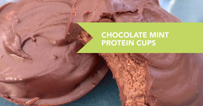 Chocolate Mint Protein Cups Recipe