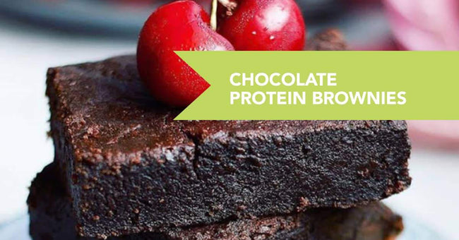 Chocolate Protein Brownies Recipe