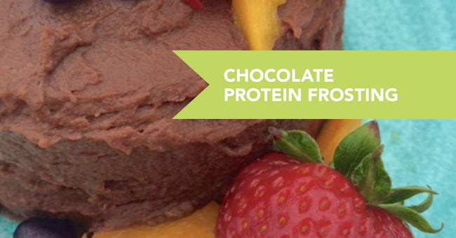 Chocolicious Chocolate Protein Frosting Recipe