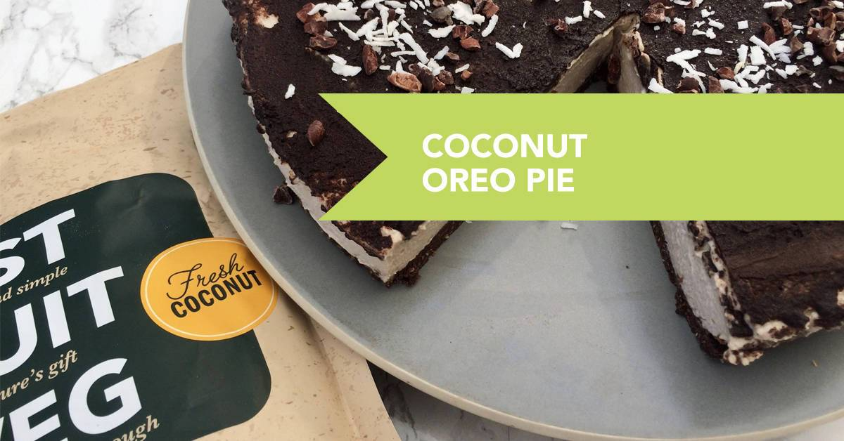 Coconut Oreo Protein Pie Recipe