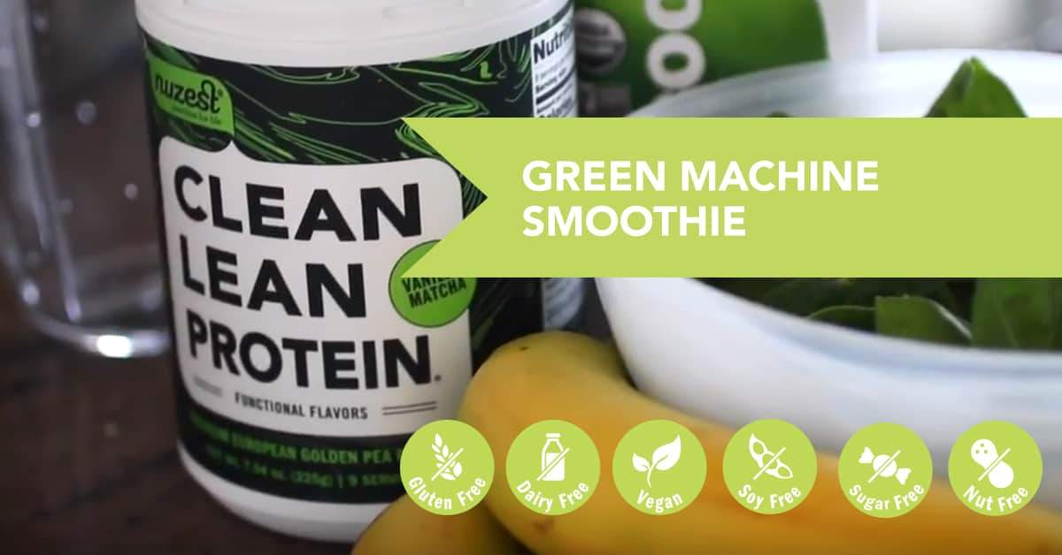 Green Machine Protein Smoothie