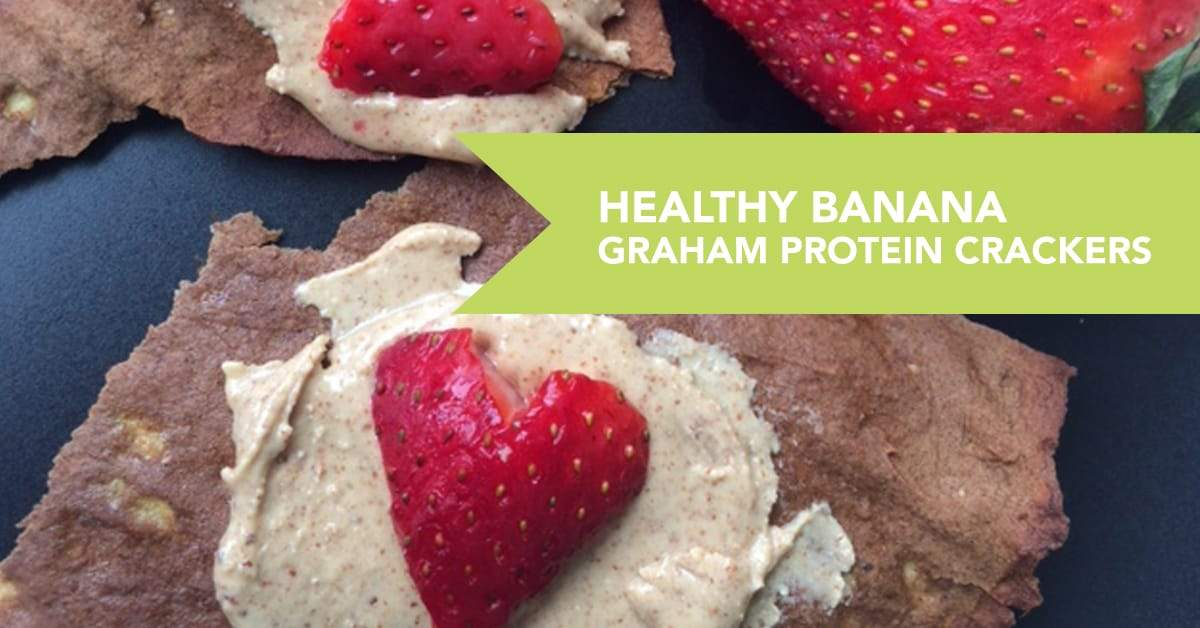 Healthy Banana Graham Protein Crackers Recipe