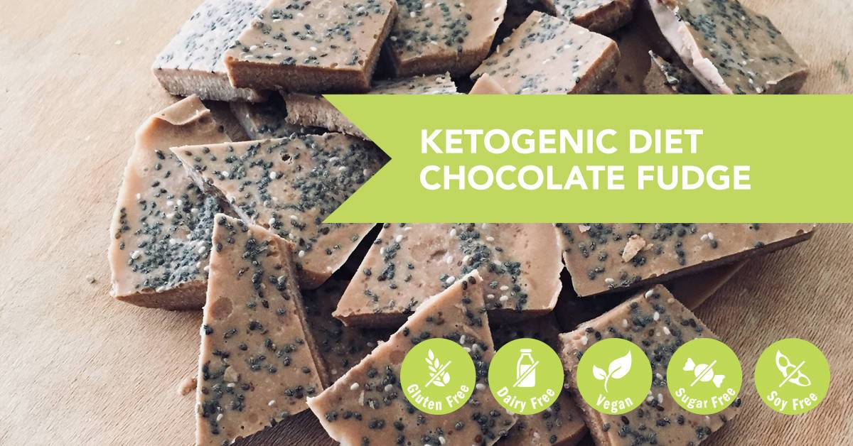 Ketogenic Diet Chocolate Fudge